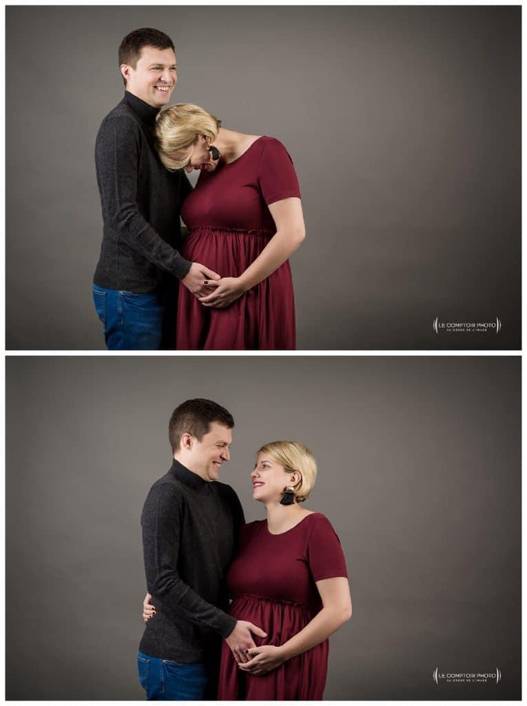 PORTRAIT couple grossesse-Paris-photographe grossesse paris beauvais oise saint brieuc-Le Comptoir Photo-55