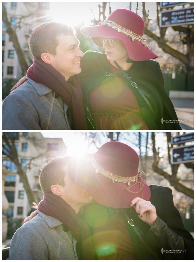 PORTRAIT couple grossesse-Paris-photographe grossesse paris beauvais oise saint brieuc-Le Comptoir Photo