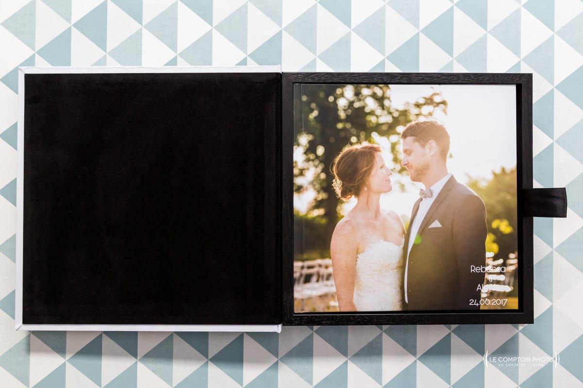 Coffret Livre photo de mariage