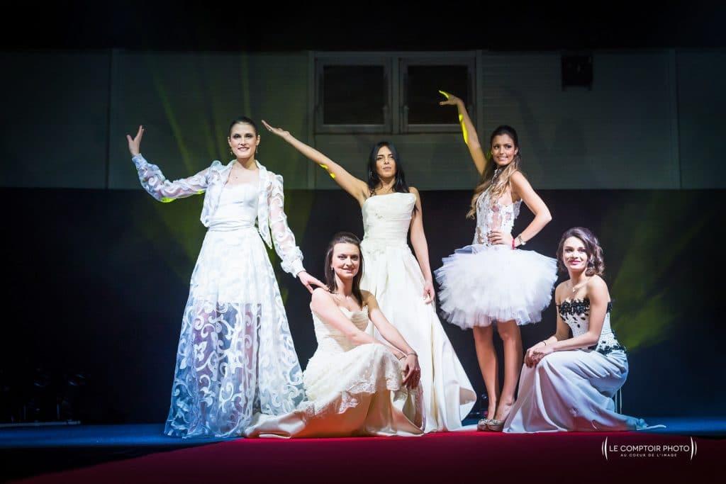 Evenementiel defile Miss robe robe de mariée_Le Comptoir Photo-70