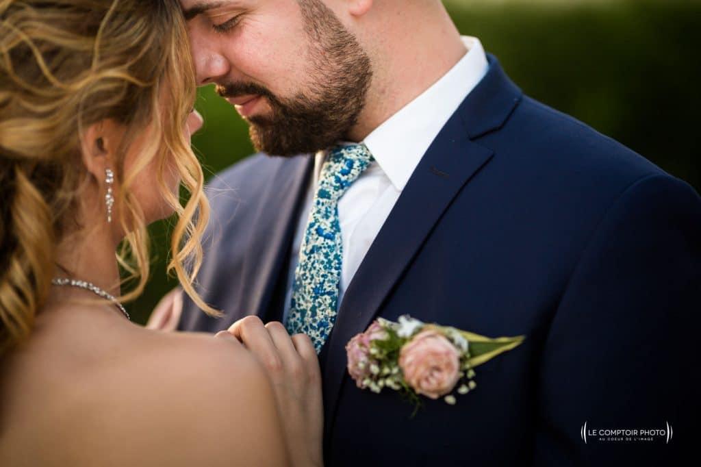 Photographe de mariage à Rennes en Ille-et-Vilaine-Bretagne - photo de couple