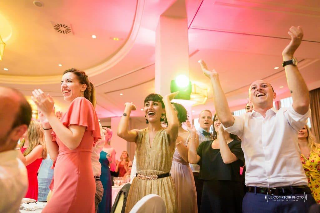Photographe de mariage dans le morbihan en bretagne - soirée - fête