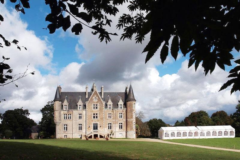 Château de Kerambleiz à Plomelin