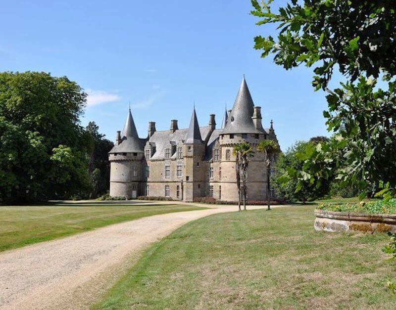 Le château de Bonnefontaine — Antrain