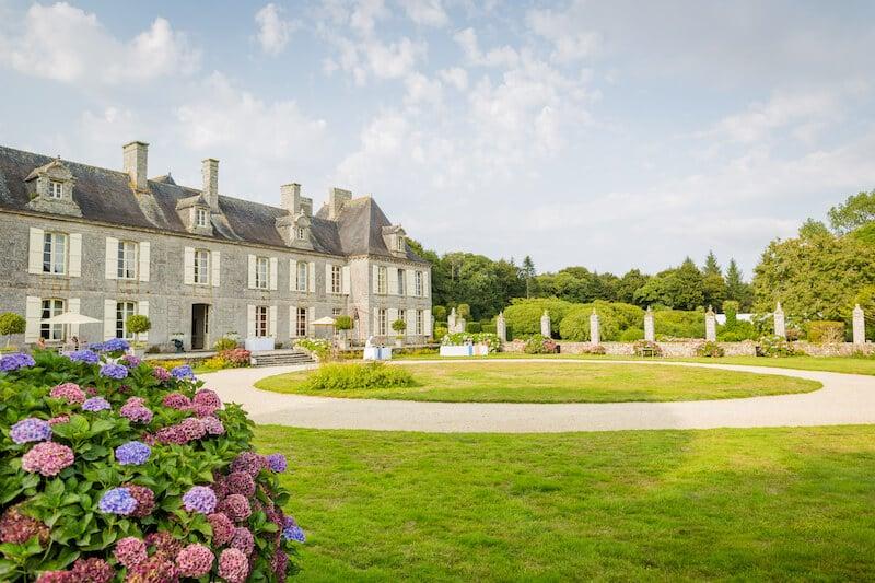 Le château de Guilguiffin à Landudec
