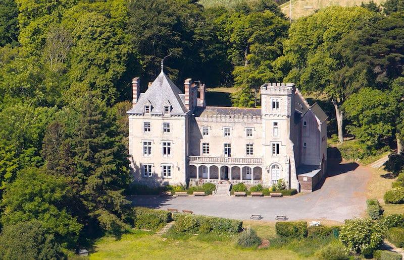 Le château de Kersaliou à Saint-Pol-de-Leon