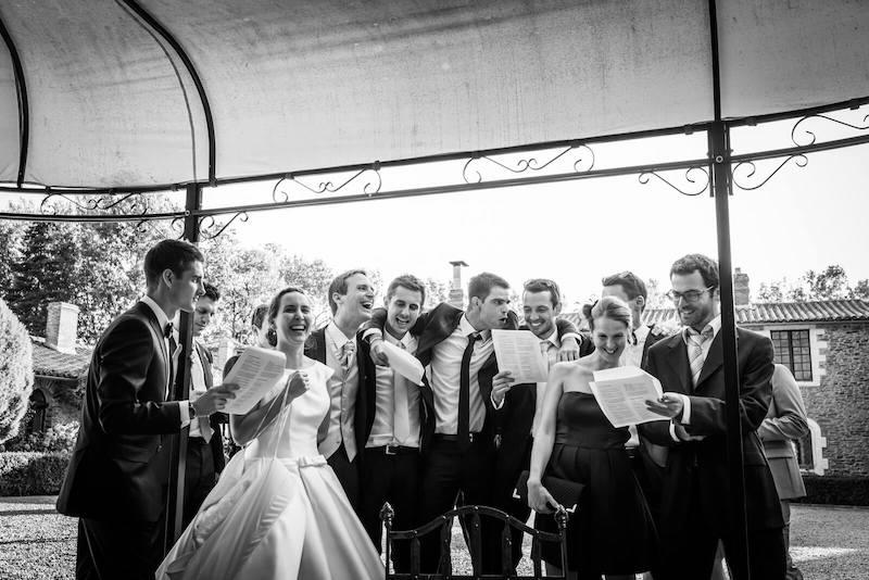Mariage chateau de la colaissiere-Saint Sauveur de Landermont- photographe mariage angers-bretagne-cotes-d'armor-saint brieuc-Le Comptoir Photo