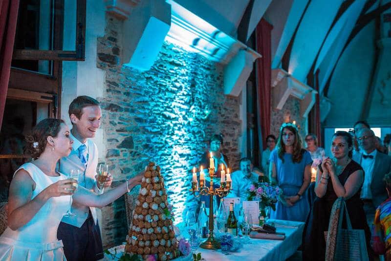 photographe mariage chateau de la colaissière à saint sauveur de landemont dans le maine et loire - 49 - Le Comptoir Photo