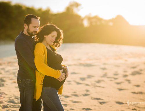 Séance photo grossesse avec Elodie et Aurélien – Côtes d'Armor
